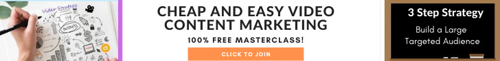 Cheap and easy Video Content Marketing