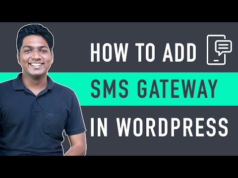 How to Integrate SMS Gateway in WordPress E Commerce Website [Video]