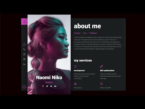 How to make HighEnd Website Design Template with all the modern Technologies in 2021 [Video]