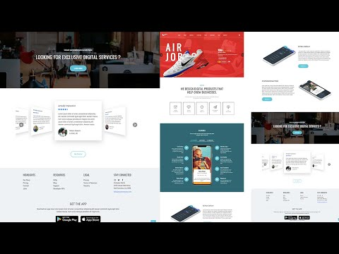 Pure CSS Scroller with Gradient Track in Real world Website – Truly Responsive HTML CSS [Video]