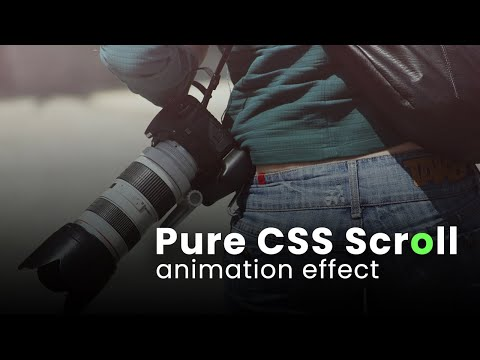 Pure CSS Scroll Indicator – Scroll Animation Effect [Video]