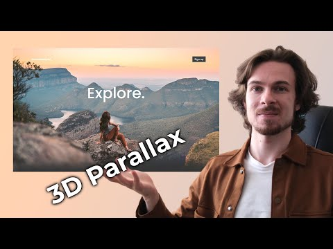 How To Create Awesome Parallax Images For Websites [Video]