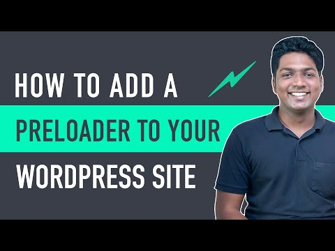 How to Add a Preloader to your WordPress Website   In Just 60 Seconds [Video]