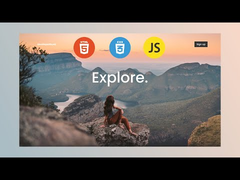 Build Parallax Website With HTML CSS & Javascript [Video]