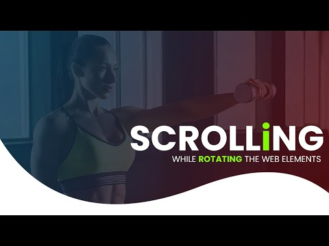 Scroll & Parallax Effect While Scrolling the website elements using HTML CSS [Video]