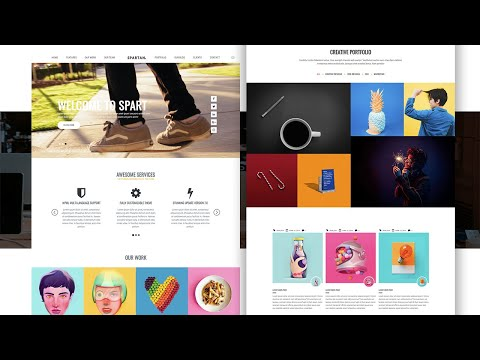 How to make complete HTML Responsive Website – Scroll To Top and scrolling effect [Video]