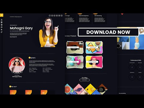 My Premium Responsive Website Theme for Free Download Today only [Video]