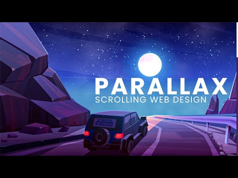Parallax Scrolling Website – How to make animated website in HTML CSS JS [Video]