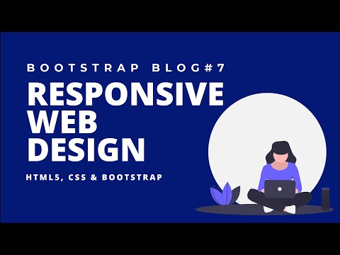 Web Design Tutorial #7 – Responsive Website Using HTML5, CSS & Bootstrap( Category Page – Part One) [Video]