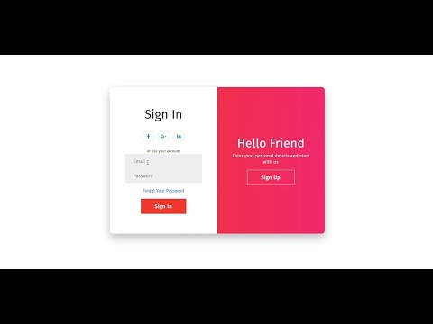 React.js – Beautiful Auth UI | Sign Up & Sign In Web Design Tutorial [Video]