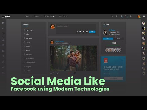 How to make Social Sharing Website Like Facebook with Modern Technologies [Video]
