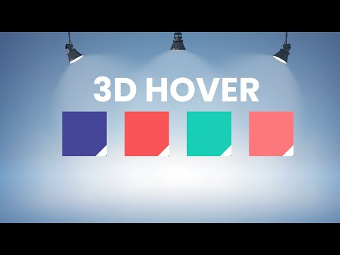 3d Flipping Card Hover Effect using HTML CSS Only [Video]