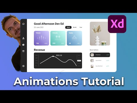 Create Awesome Animations In Adobe XD Tutorial [Video]