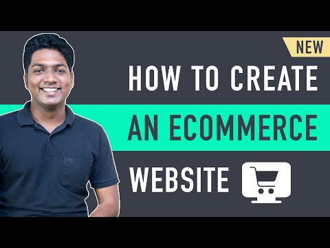 How to Make an E-Commerce Website (new) [Video]