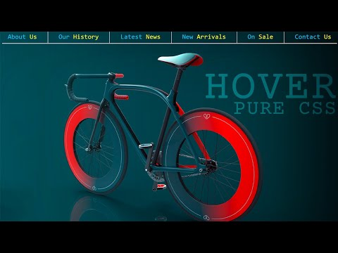 Pure CSS Menu Hover Effect | Latest CSS Hover Effect and CSS Tricks [Video]