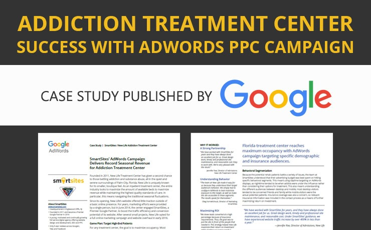 Rehab Center Finds Success with AdWords PPC Campaign [Video]