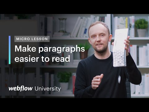 Use the CH typography unit to make paragraphs easier to read — Micro lesson #24 [Video]