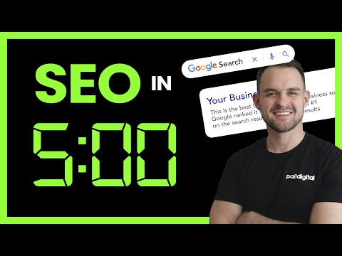 SEO in 5 min – DO THIS! [Video]