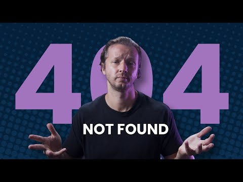 The UI/UX of 404 Page Design [Video]