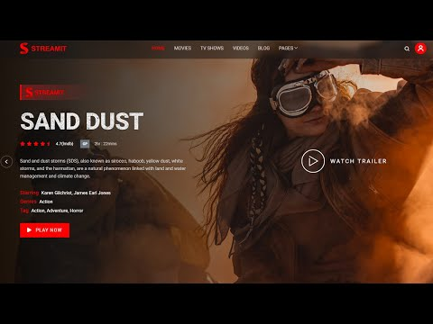 Movie Streaming Complete Website Design using Modern Technologies and Vue.js [Video]