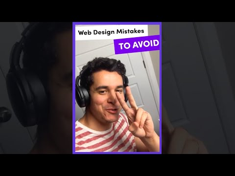 Web Design Mistakes to Avoid Pt. 2 [Video]