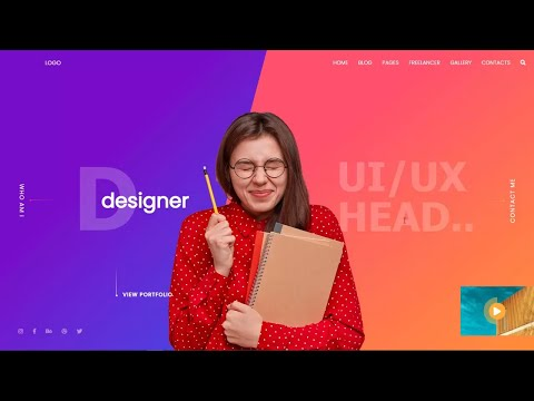 How to create a website using HTML AND CSS Step by step [Video]