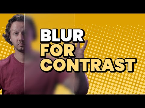 Use this Trick to FIX Contrast Issues! [Video]