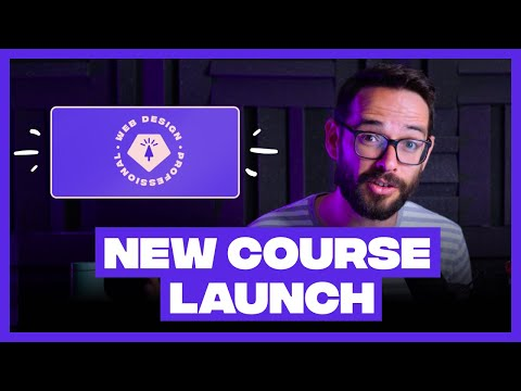 🚨 NEW COURSE ANNOUNCEMENT (Web Design: Becoming a Professional) [Video]