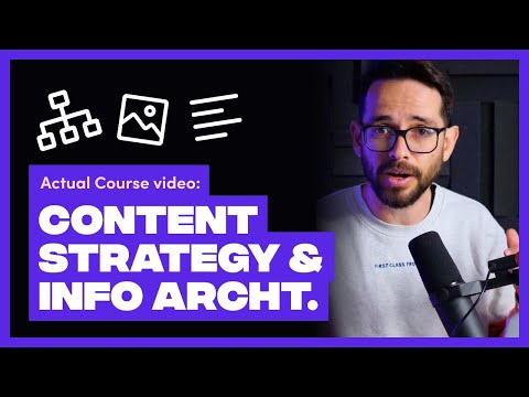 Full Workshop: Content Strategy & Information Architecture [Video]