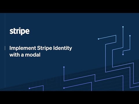 Implement Stripe Identity with a modal [Video]