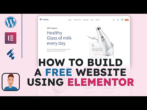 How To Build a Free Website of Company – How to Make Elementor Website – How To Build a Free Website [Video]